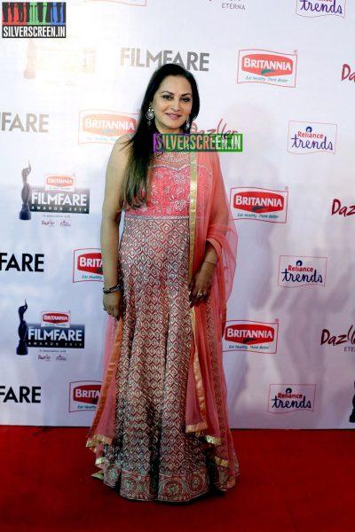 Jaya Prada at the 62nd Filmfare Awards South Photos