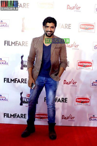 Arun Vijay at the 62nd Filmfare Awards South Photos