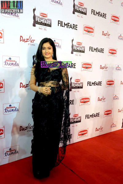 Poonam Bajwa at the 62nd Filmfare Awards South Photos
