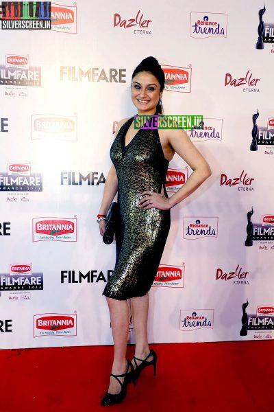 Sonia Agarwal at the 62nd Filmfare Awards South Photos