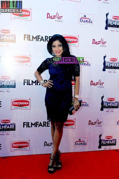 Sakshi Agarwal at the 62nd Filmfare Awards South Photos