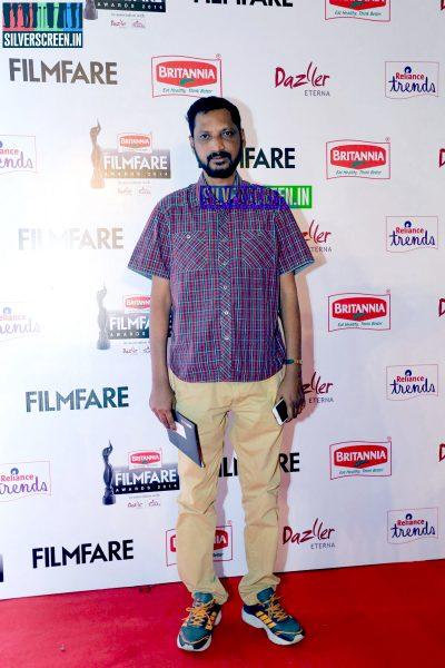 Na Muthukumar at the 62nd Filmfare Awards South Photos
