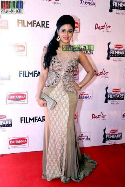 Iniya at the 62nd Filmfare Awards South Photos