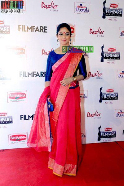 Nadiya at the 62nd Filmfare Awards South Photos