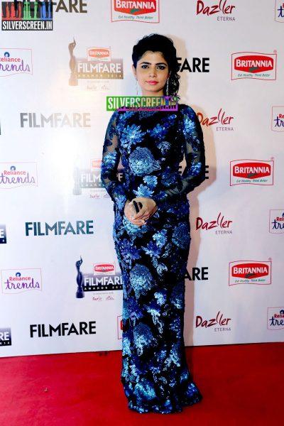 Chinmayi Sripada at the 62nd Filmfare Awards South Photos