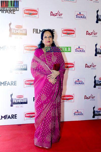 Vani Jairam at the 62nd Filmfare Awards South Photos