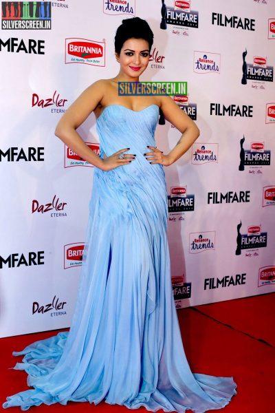 Catherine Tresa at the 62nd Filmfare Awards South Photos