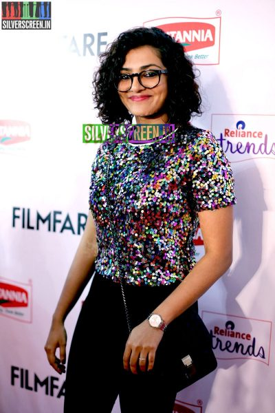 Parvathi Menon at the 62nd Filmfare Awards South Photos
