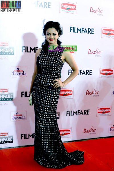 Pooja Kumar at the 62nd Filmfare Awards South Photos