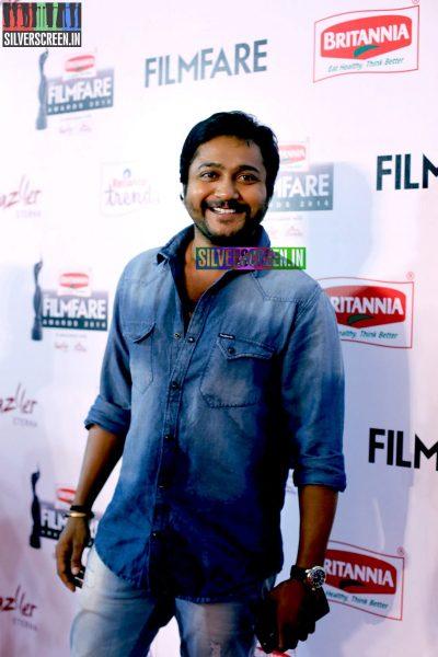 Bobby Simha at the 62nd Filmfare Awards South Photos