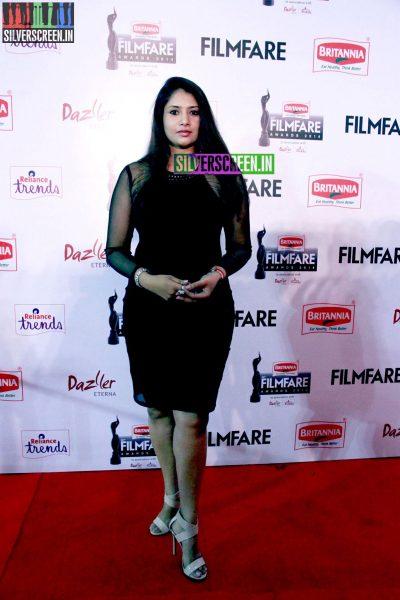 Sangavi at the 62nd Filmfare Awards South Photos