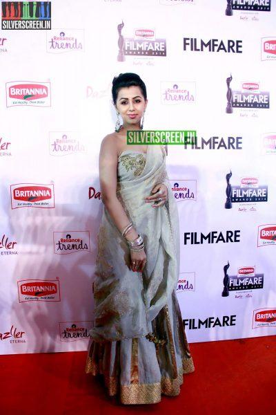 Nikki Galrani at the 62nd Filmfare Awards South Photos