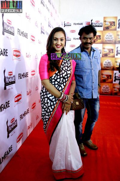 Director Hari at the 62nd Filmfare Awards South Photos