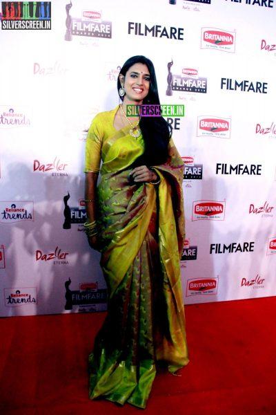 Kasthuri at the 62nd Filmfare Awards South Photos