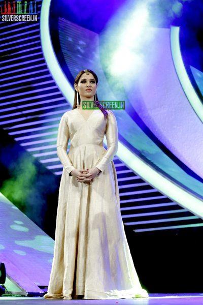 Tamannaah Bhatia at the 62nd Filmfare Awards South Photos