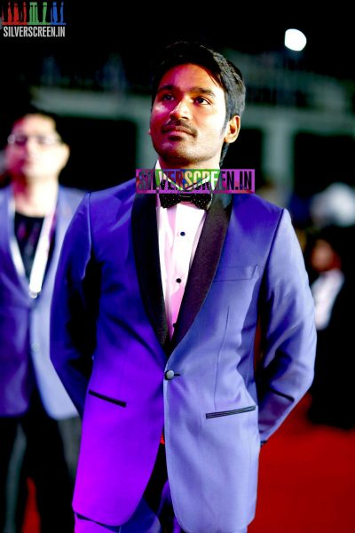 Dhanush at the 62nd Filmfare Awards South Photos