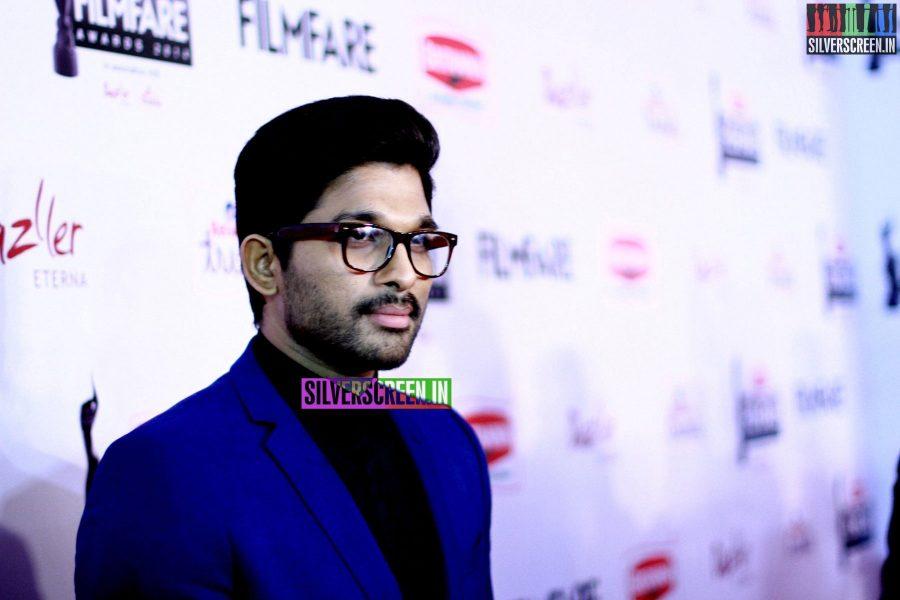 Allu Arjun at the 62nd Filmfare Awards South Photos