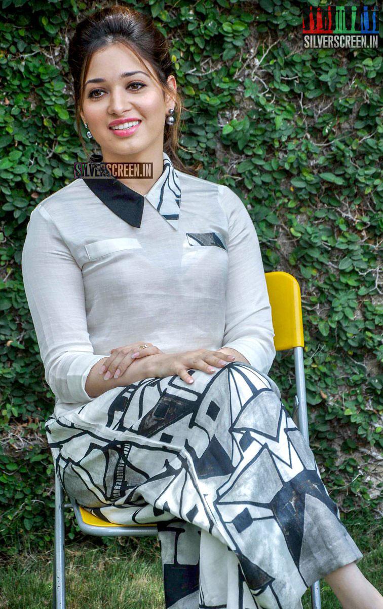 tamannaah bhatia photos from baahubali press meet | silverscreen.in