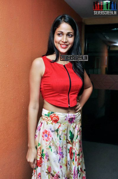 Lavanya Tripathi at Bhale Bhale Magadivoy Movie Song launch at Red FM
