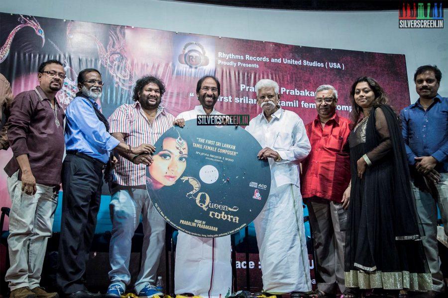 Prabalini's Queen Cobra Album Launch Photos