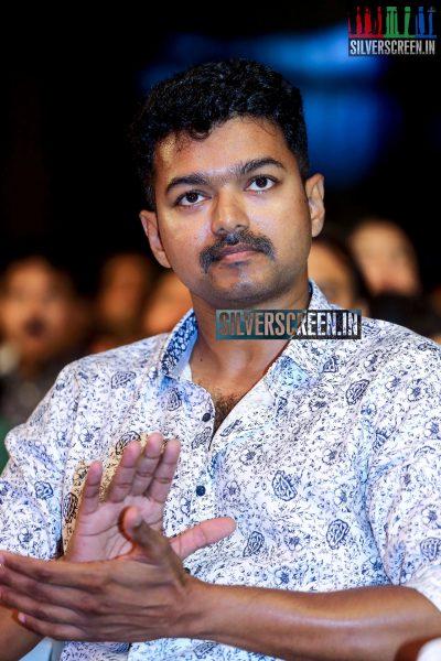 Vijay at Puli Audio Launch