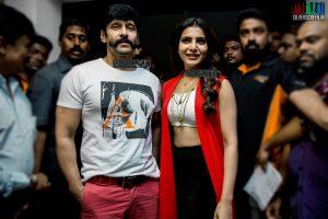 Samantha and Vikram at 10 Enradhukulla Teaser Launch