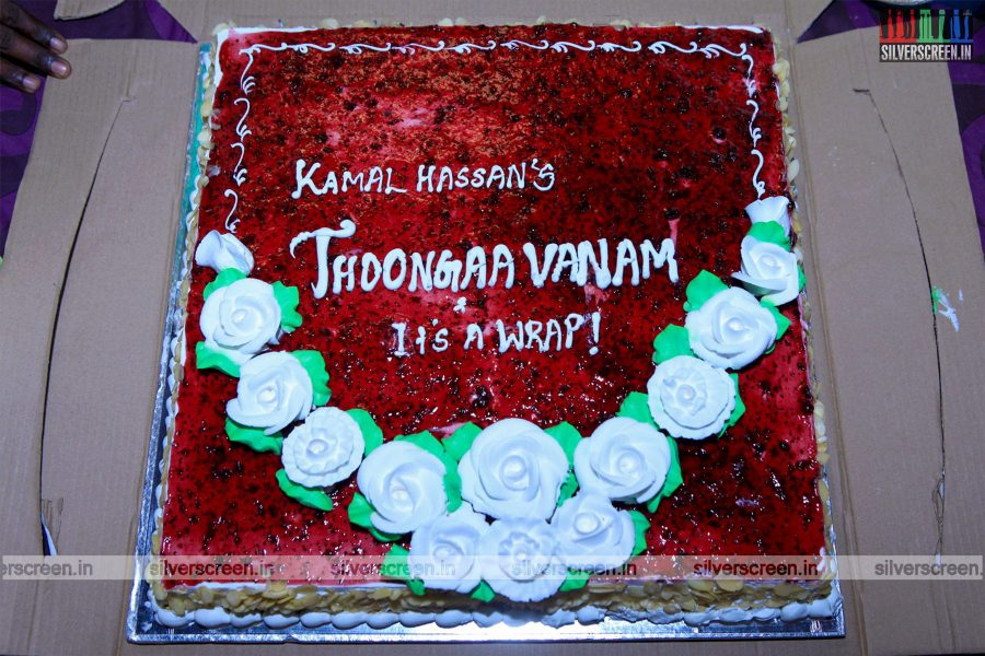 Thoongavanam Shooting Wrap Up Photos