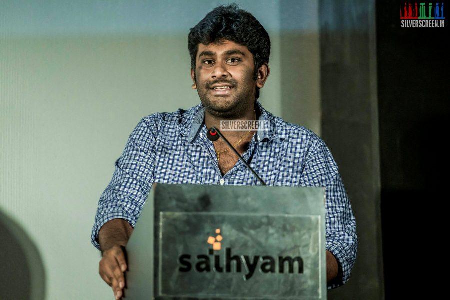 at Unakkenna Venum Sollu Trailer Launch
