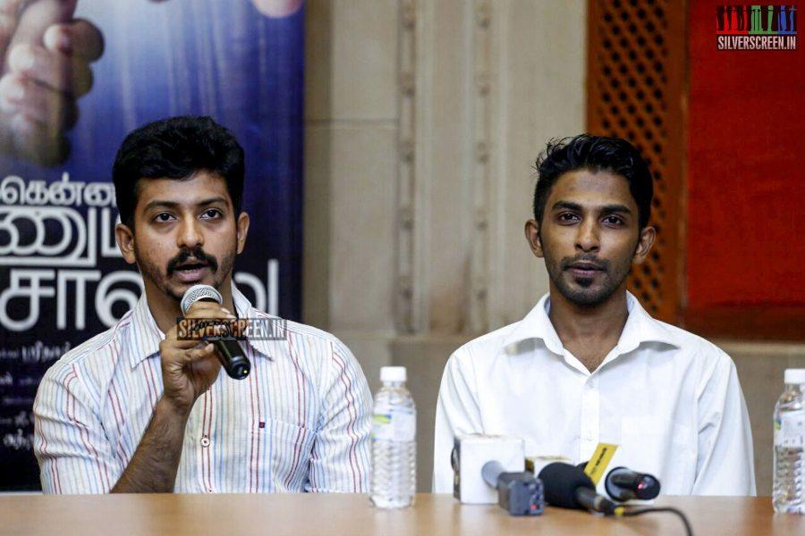 Unakkenna Venum Sollu Press Meet Photos