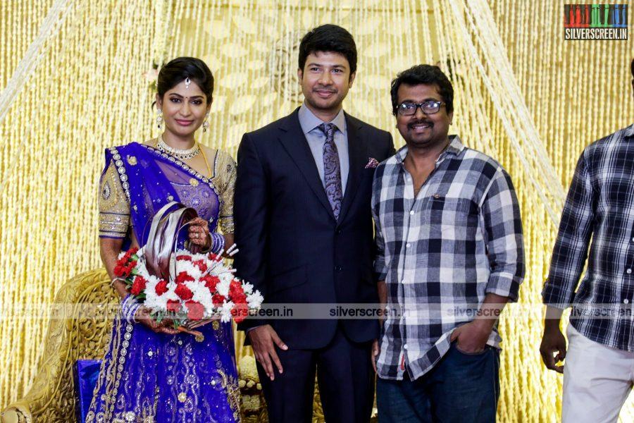 Feroz - Vijayalakshmi Wedding Reception Photos