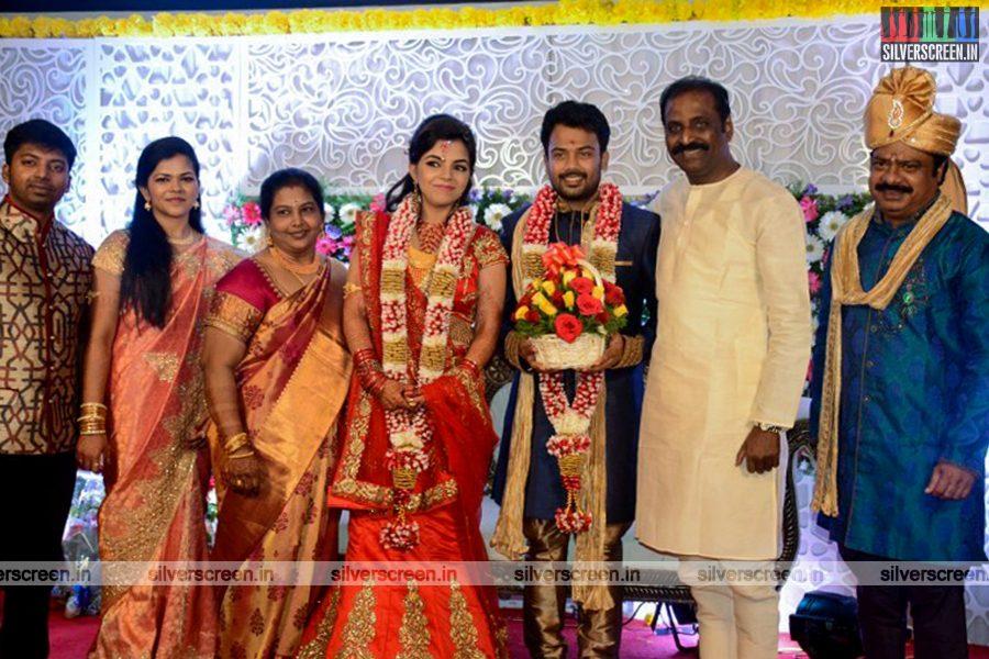 Prithvi Pandiarajan Engagement Photos