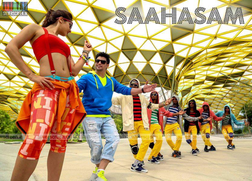 Saahasam Movie Stills