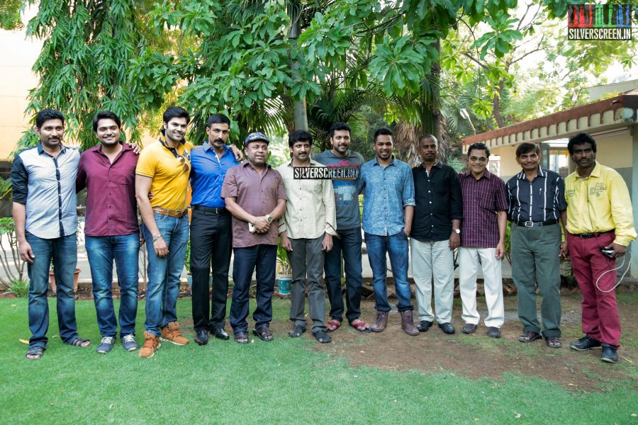 Thani Oruvan Thanksgiving Meet Photos