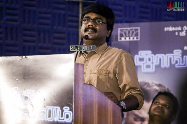 at Thoongaavanam Trailer Launch