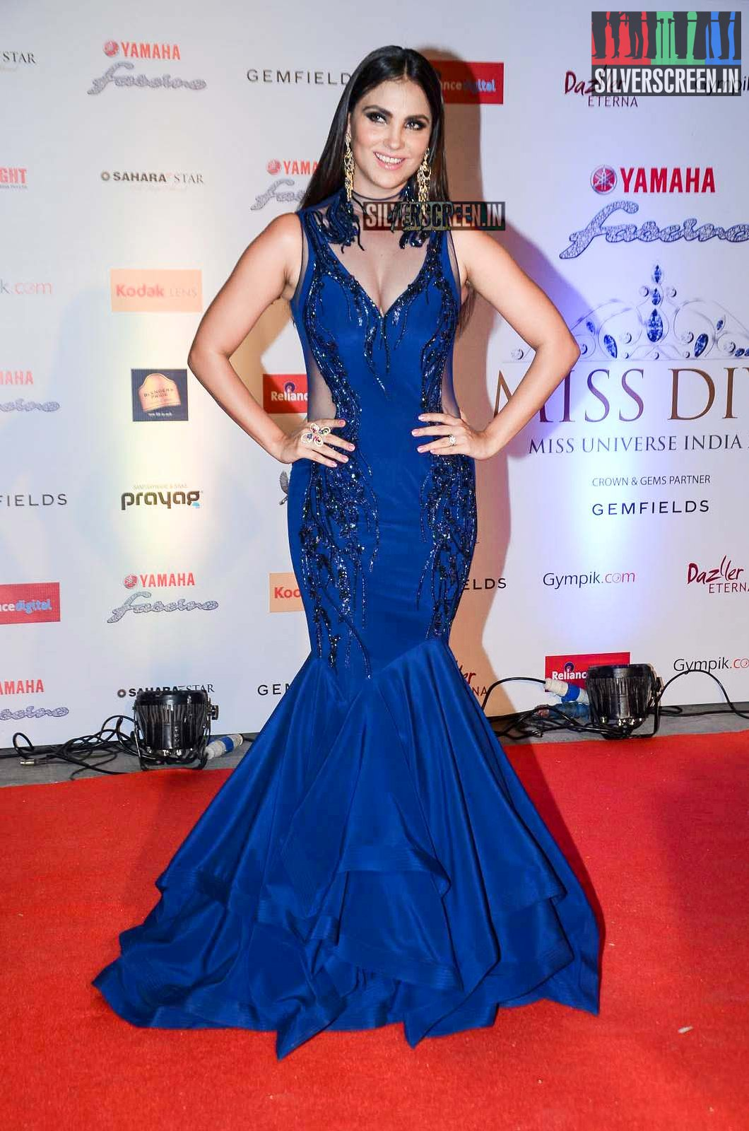 Celebrities At Miss Diva Red Carpet 2015 Silverscreen In