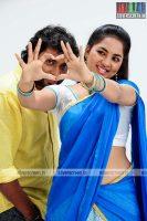 Narain and Srushti Dange in Kathukutti Movie Stills