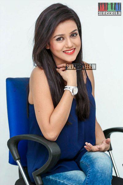 Mishti Chakraborty at Columbus Movie Promotions
