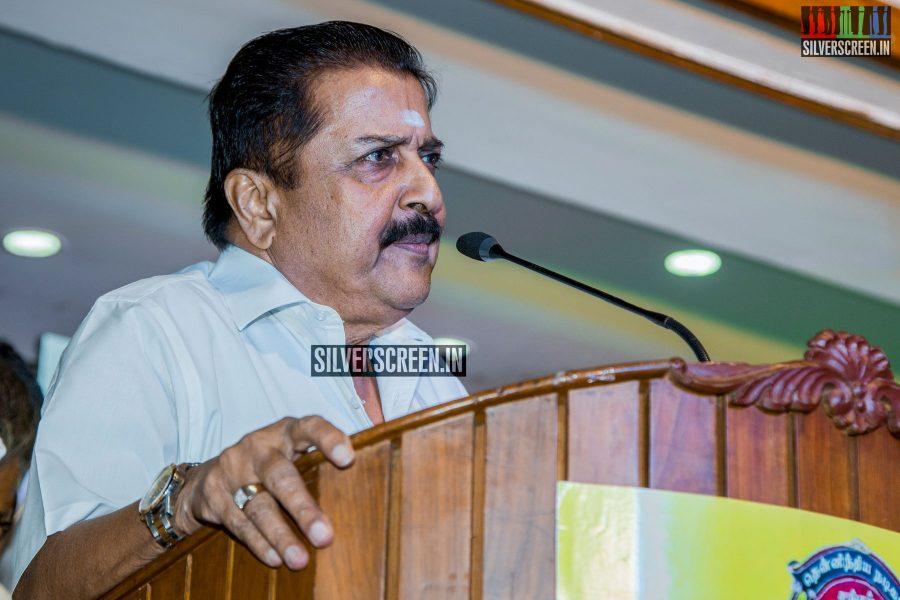 Vishal and Team - Nadigar Sangam Election Meeting Photos