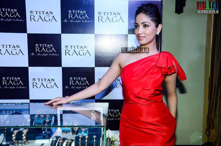 Yami Gautam Launches Moonlight collection by Titan Raga
