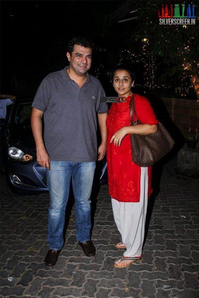 Deepika Padukone and Ranbir Kapoor at Tamasha Star Cast Dinner