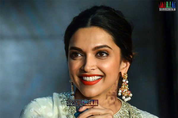 Deepika Padukone at Bajirao Mastani Movie Promotions