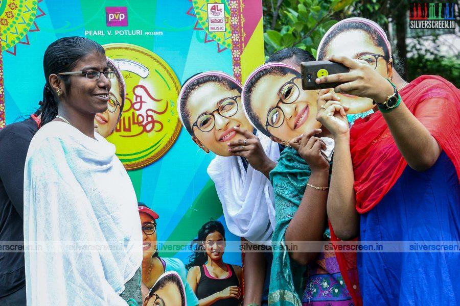 Inji Iduppazhagi Movie Promotions