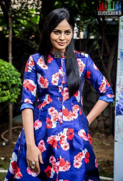 Nandita Swetha HQ Photos from Anjala Audio Launch