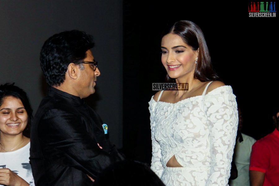 Sonam Kapoor at the Neerja Trailer Launch
