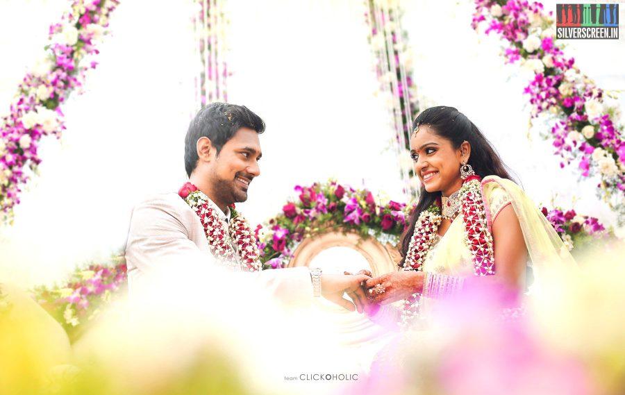 Varun Sandesh & Vithika Sheru Engagement Photos