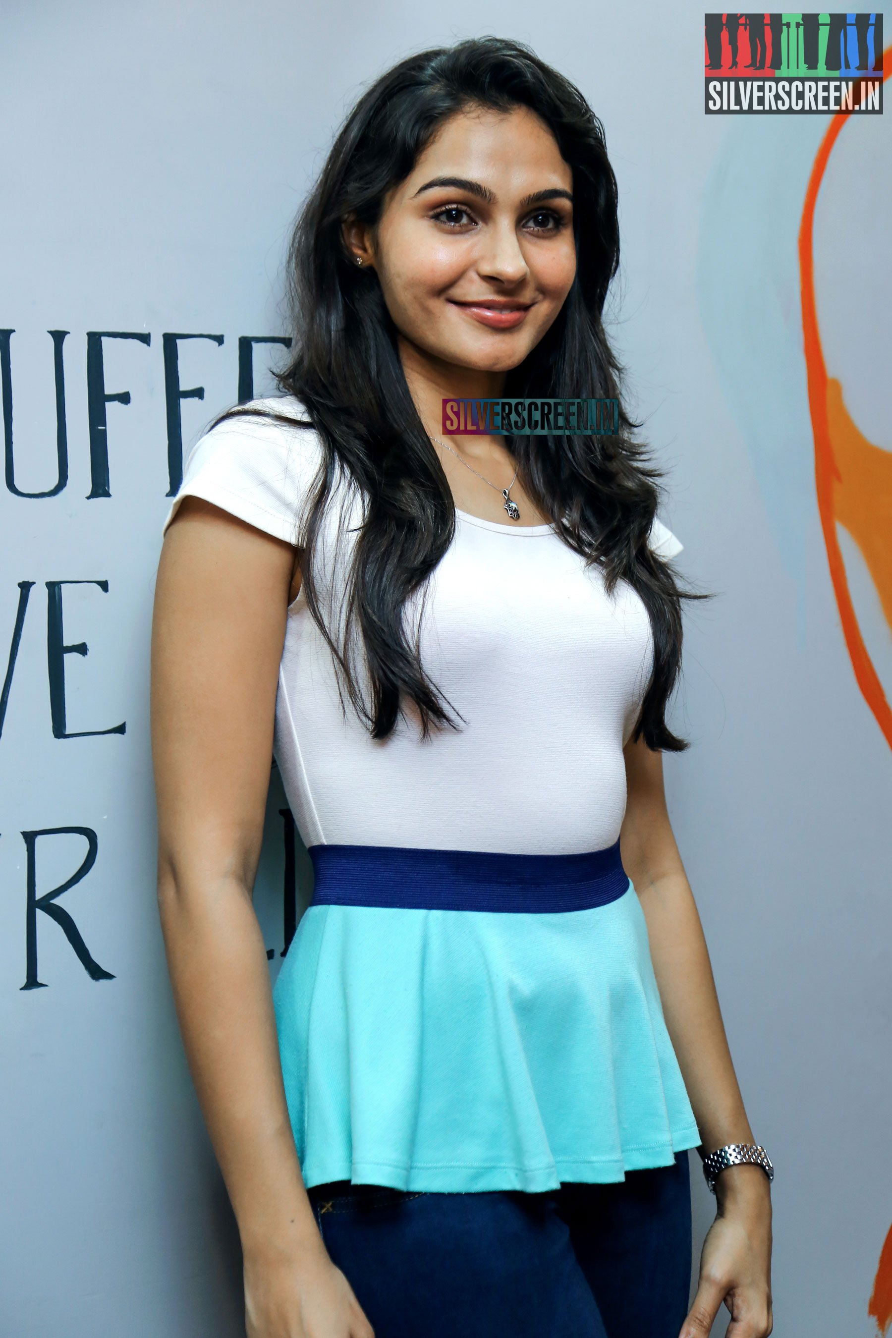 Andrea For Genesis Young Teen Julie: Andrea Jeremiah At The Inauguration Of Toneez Fitness