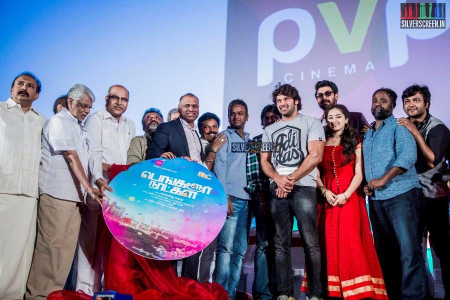 at Bangalore Naatkal Audio Launch