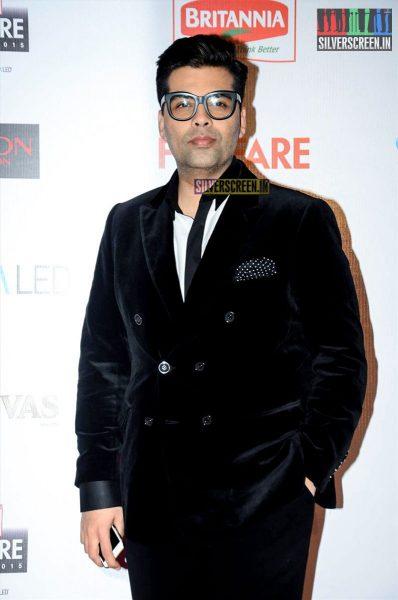 Celebrities at Filmfare Nominations Red Carpet