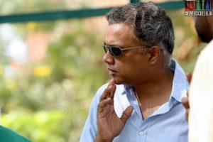 Gautham Menon in Ajith 55 Movie Stills
