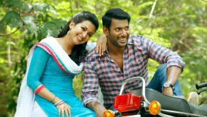 Vishal and Catherine Tressa in Kathakali Movie Stills